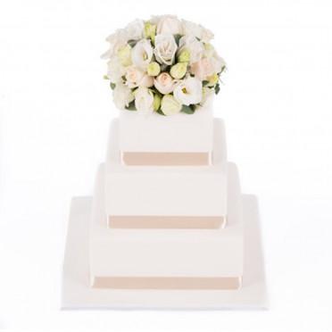 Pure Elegance Cake Decoration