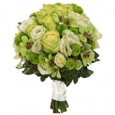 Green Garden Bouquet
