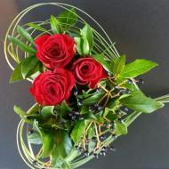 Miniature Rose Heart