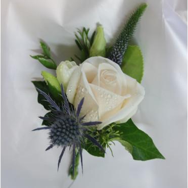 Sweet Rose Buttonhole