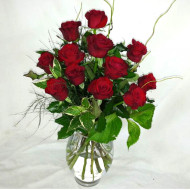 12 Long Stem Premium Rose Bouquet